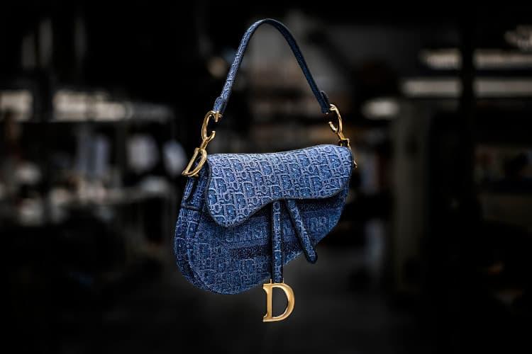 ディオールのショルダーバッグ