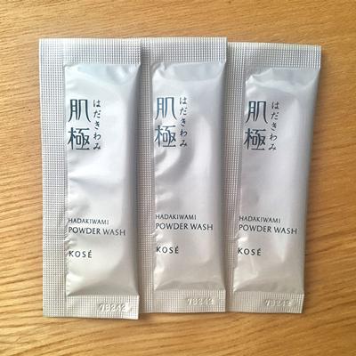 【KOSE】肌極(はだきわみ)つるすべ素肌洗顔料