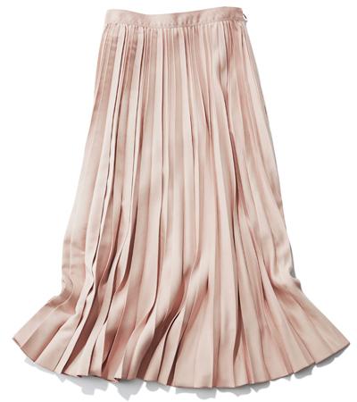 「ANAYI」のプリーツフレアスカート