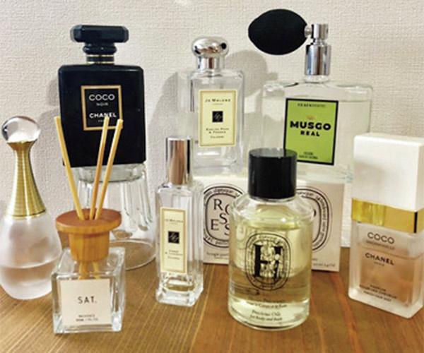 ディフューザーや香水