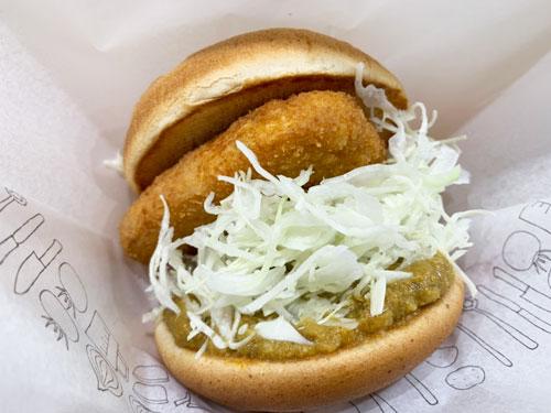 モスバーガー「冷製カレーチキンバーガー」