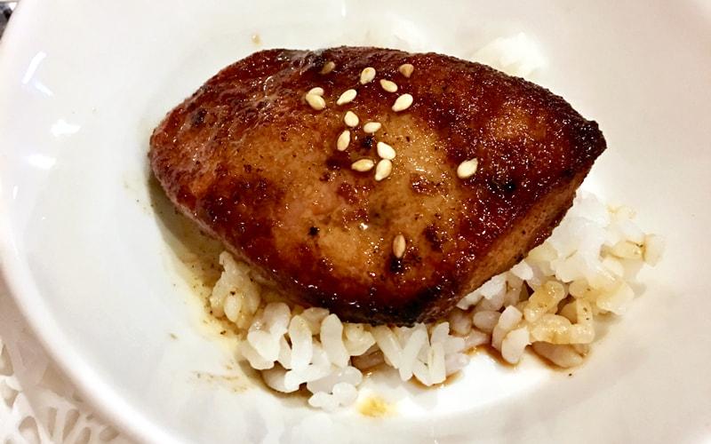 ミニフォアグラ丼