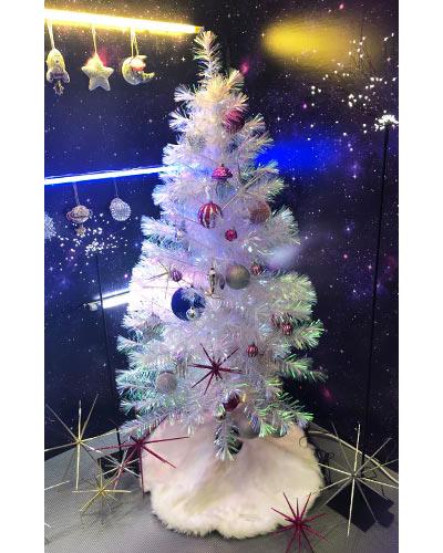 クリスマス LED ファイバーツリー
