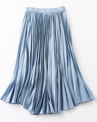 【COEL】のフロントプリーツスカート