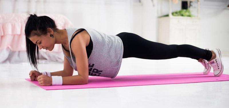 自宅で簡単にできる引き締めトレーニング
