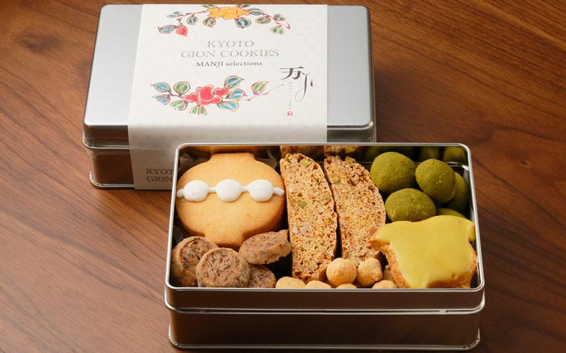 「万治カフェ」祇園クッキー 万じセレクション