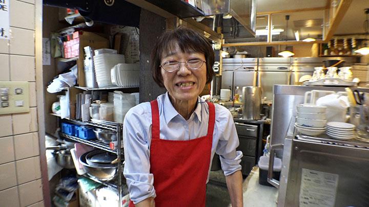 中華そば「多賀野」店主・高野多賀子さん