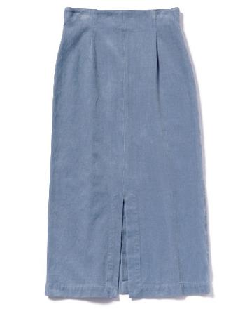 ダスティブルータイトスカート