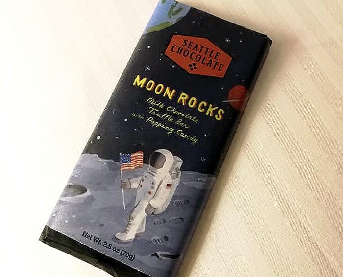 限定チョコレートバー「MOON ROCKS」
