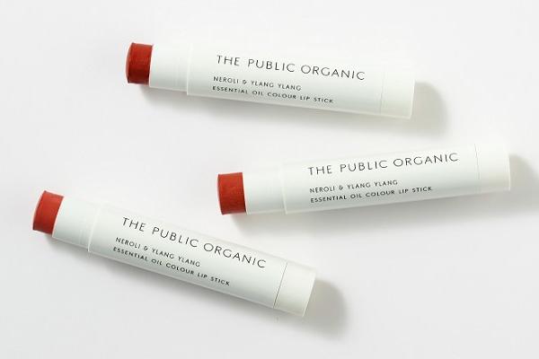 ザ パブリック オーガニック|オーガニック認証 精油カラーリップスティック