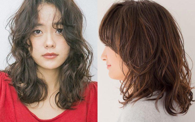 おしゃれ見えするミディアムの髪型7選|ストレートから巻き髪