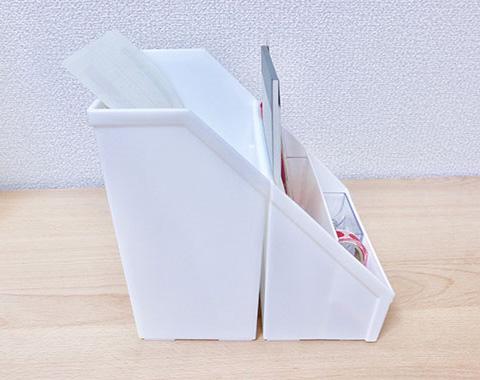 小物ケースに文具を収納