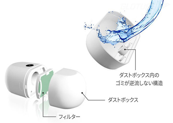 コンパクトクリーナー「Ineyes」 水洗い可