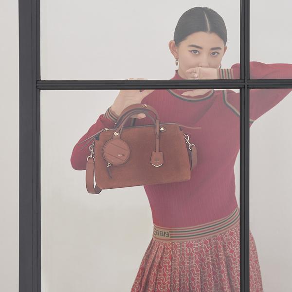 【FENDI|フェンディ】「バイザウェイ」は毎日の装いにマッチする旬のスエード素材を狙って