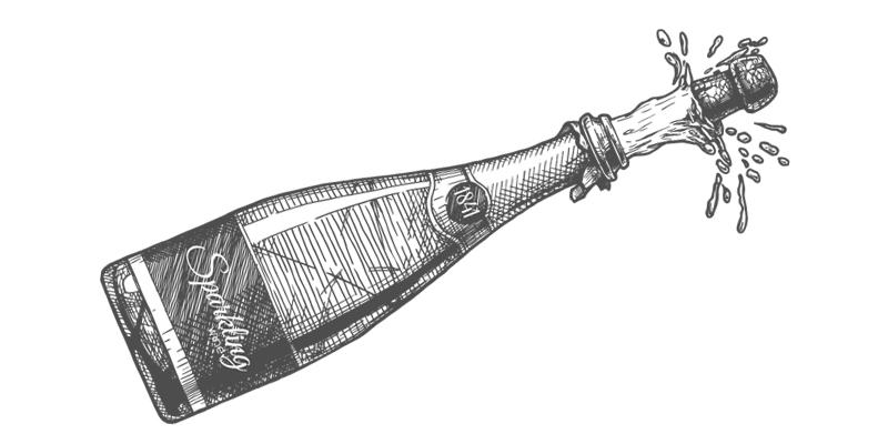 スパークリングワインの開け方