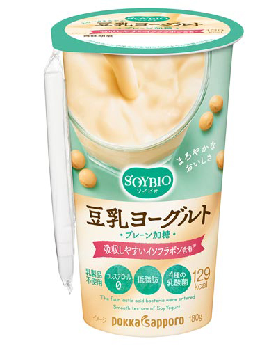 「ソイビオ豆乳ヨーグルト プレーン加糖