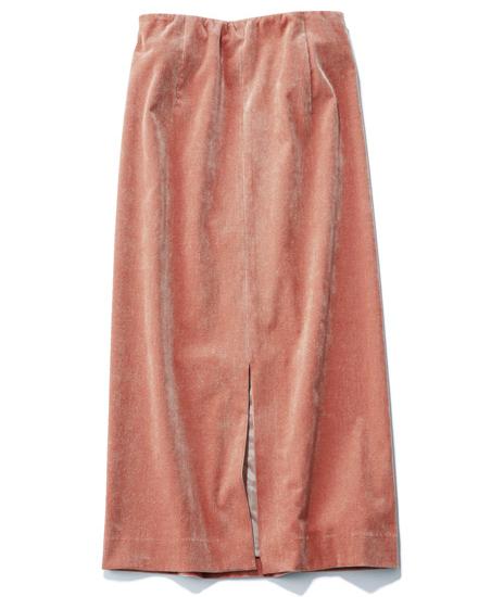 「ピンクコーデュロイ」スカート