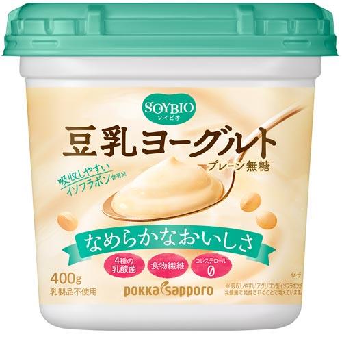 「ソイビオ豆乳ヨーグルト プレーン無糖