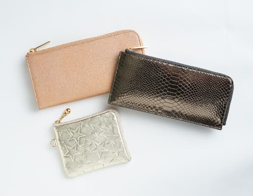 レイジースーザンの財布 ゴールド系/ブロンズ系カラー