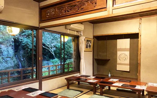 和田乃屋さんの2階のお部屋