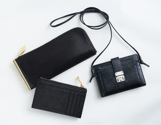 レイジースーザンの財布 ブラックカラー
