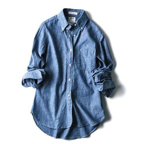 〝マディソンブルー×ピルグリム サーフ+サプライ〟のシャンブレーシャツ