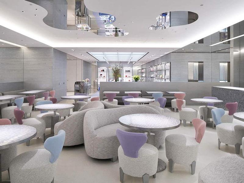 Cafe Dior by Pierre Hermé(カフェ ディオール バイ ピエール・エルメ)店内