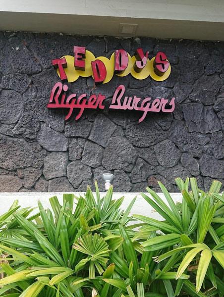 ハンバーガーショップ【Teddy's Bigger Burgers Waikiki】