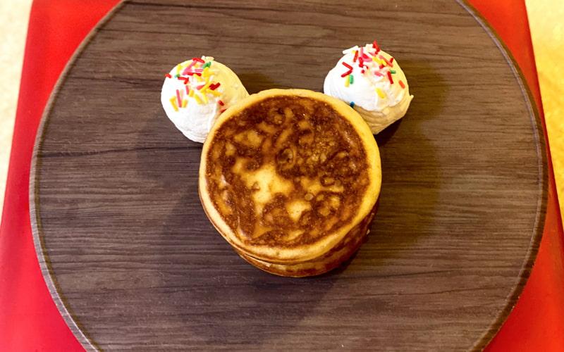 鳴門金時と小豆のホットケーキ