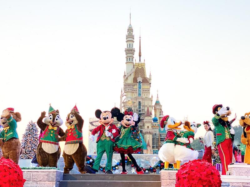 ミッキー&フレンズ・クリスマス・ボール