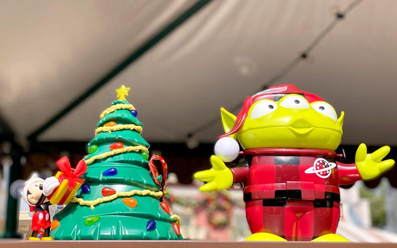 クリスマスシーズンのグッズ