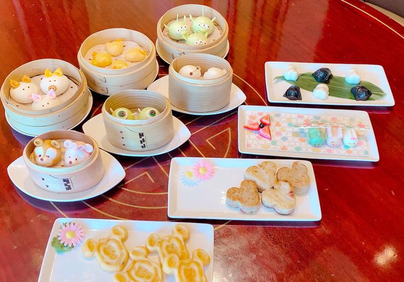 香港ディズニー飲茶