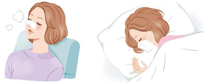 就寝時の口呼吸予防に