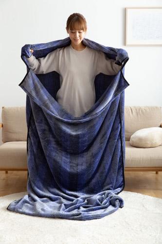 mofuaここちよくここちいい包まれる毛布