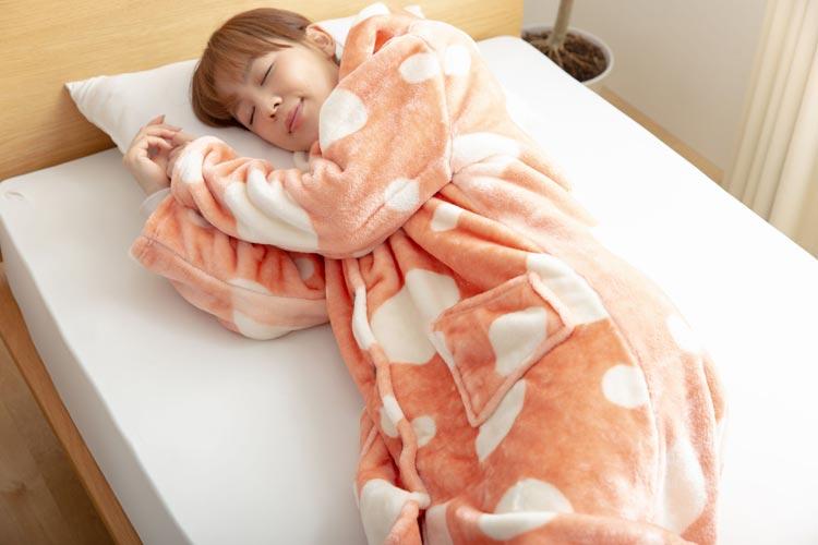 mofuaここちよくここちいい着る毛布