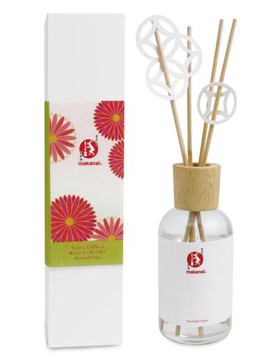 makanai|香り高く、拡がる 切り絵飾りのディフューザー(麗らかに咲く花々の香り)