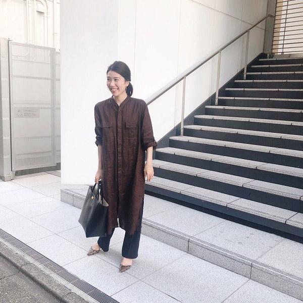【2】脱マンネリ!レイヤードで新鮮に着まわす