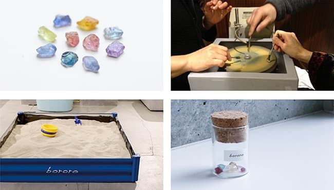 「bororo(ボロロ)」×詫間宝石彫刻 宝石研磨ワークショップ
