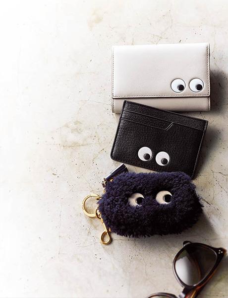 財布にキョロキョロ目玉がついた!? キュートで存在感抜群の財布