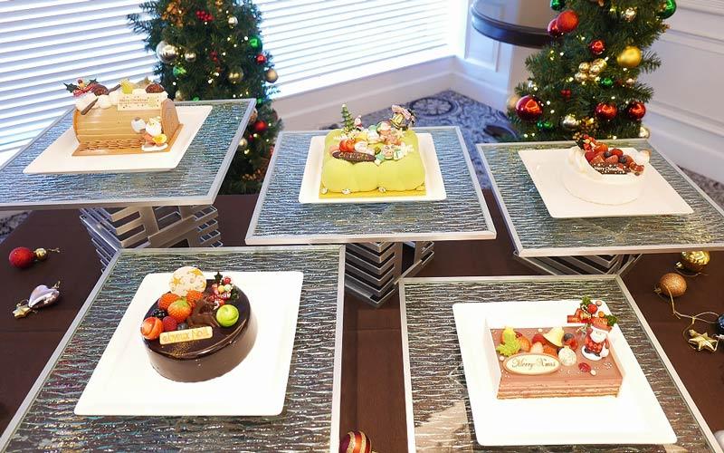 「シェラトン・グランデ・トーキョーベイ・ホテル」クリスマスケーキ2019