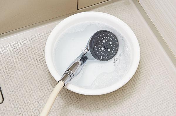 シャワーヘッドつけ置きキレイ