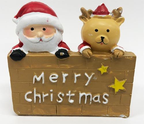 クリスマス置物 ミニチュアセット 看板II(ダイソー)