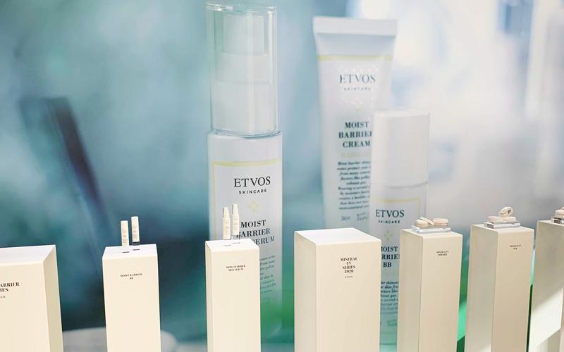 ETVOSのスキンケア&ベースメイクアイテム