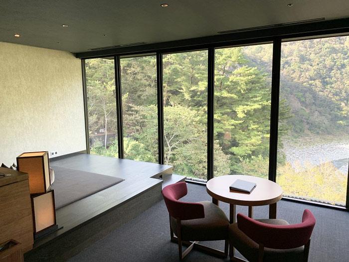 メゾネット客室