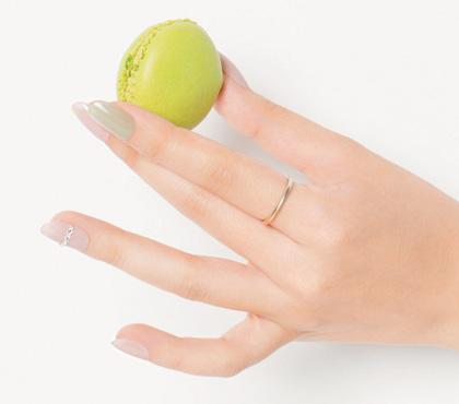 人差し指の爪