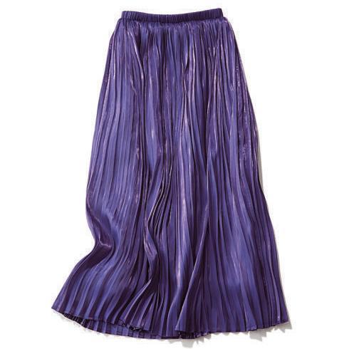 ブリスポイントのプリーツスカート
