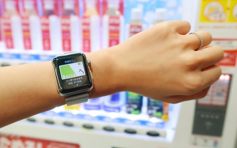 Apple Watchを使ってICカード
