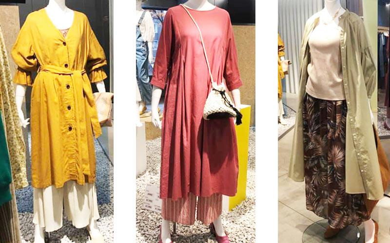 GU Woman'sコレクション2020夏新作