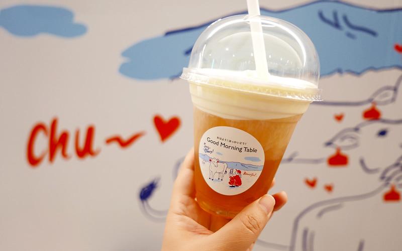 生クリーム北海道コーン茶