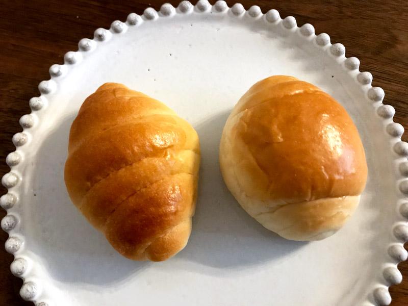 家にあったロールパンと比べてみた